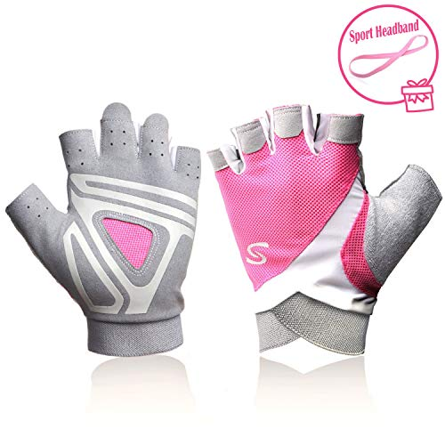 Dragon Boat Race - Pink Rowing Gloves for Women Ideal for Indoor Weight Lifting, Workout, Sculling, Kayak, SUP, Outrigger Canoe, Dragon Boat (Kayak Gloves women1)