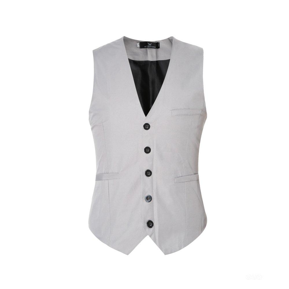 Gilet da Uomo Gilet da Completo Classico Formale vestibilità Slim EHMJ01