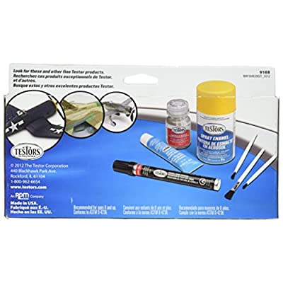 Testors Acrylic Finishing Sets Paint Kit, Multicolor: Home & Kitchen