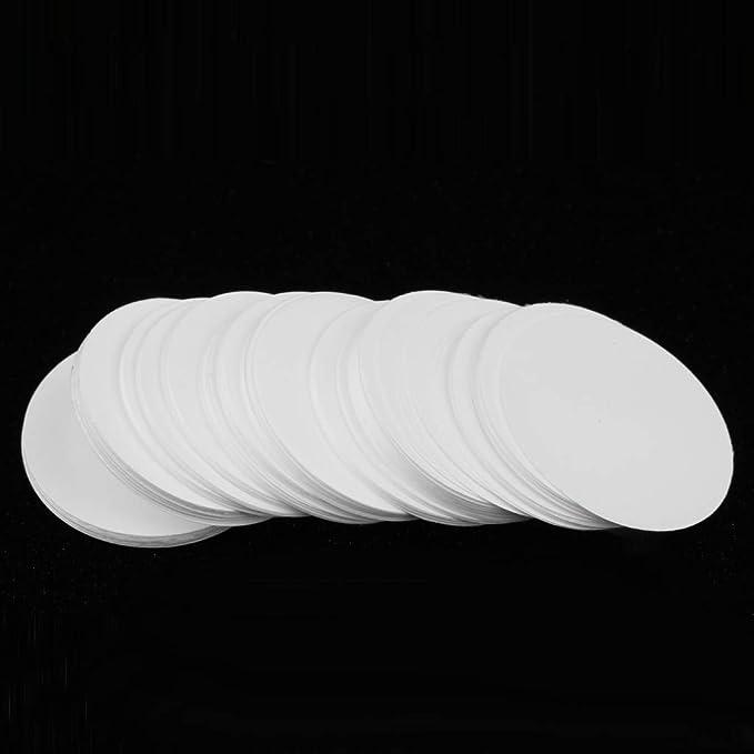 200PCS 25mm Inorganic Nitrocellulose Membrane Filters 0.22/μm Pore