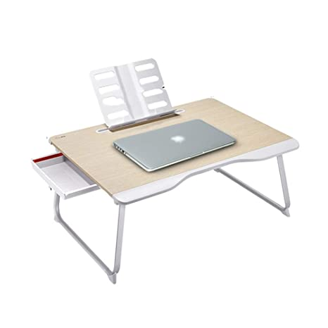 Amazon Com Portable Computer Desk Small Table On The Bed