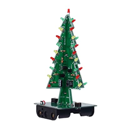 Amazon Com Ardest 3d Diy Electronic Christmas Tree With 7 Colours