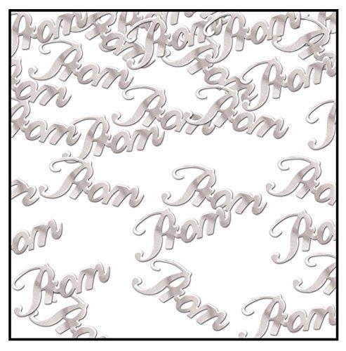Beistle Prom Confetti, 0.5 oz, Silver -