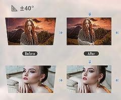SWEET Mini Proyector Full HD,Mini Proyector PortáTil WiFi, Soporte ...