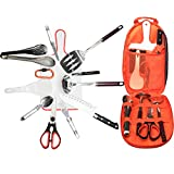 Bisgear 13pcs Backpacking Camping Cookware Kitchen Utensil...