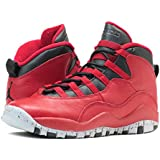 [ナイキ] AIR JORDAN 10 RETRO 30TH BG GYM RED/BLACK [並行輸入品]