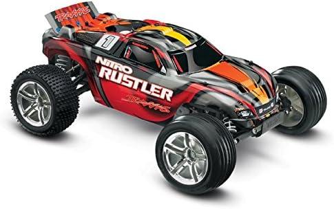 Traxxas Nitro Rustler: 2WD Stadium Truck with TQi 2.4 GHz Radio & TSM