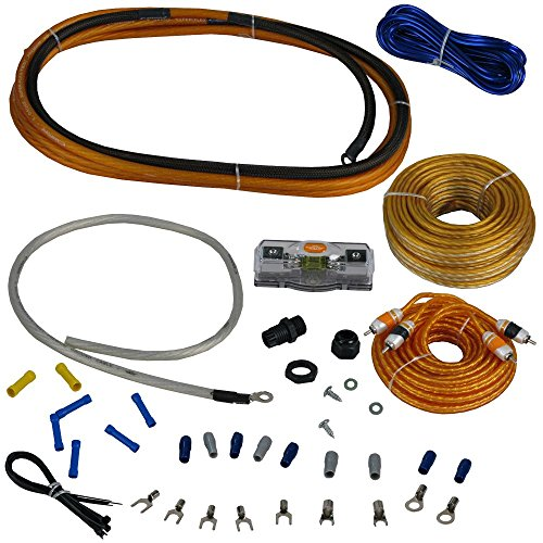Cadence Acoustics AMPKIT8 17' Oxygen Free Copper OFC RCA Power Amplifier Kit Wires by Cadence Acoustics