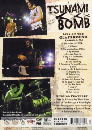 Tsunami Bomb: Live at the Glass House by MUSIC VIDEO DISTRIBUTORS