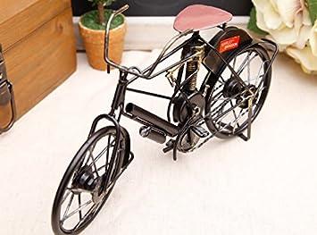 Decorationbd Vintage Iron Fahrrad Modell Dekoration Schmuck Kreativ Kinderzimmer  Deko Handwerk Schreibtisch Bücherschrank, Schwarz Bike