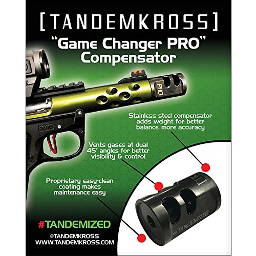 TANDEMKROSS 16x20 Poster -Game Changer PRO (22 Muzzle)