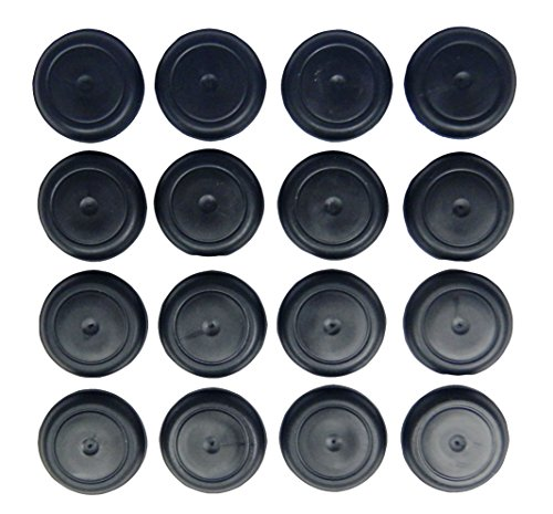 16 Body Floor RUBBER Drain Plugs fit Jeep CJ5 CJ7 CJ8 Scrambler Wrangler YJ Cherokee (Jeep Cj5 Cj7 Wrangler)