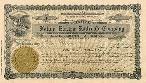 Fallon Electric Railroad Company
