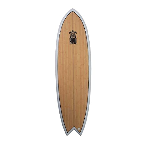 HONU Tabla de Surf Fish 6 4 White - Retro Design 4 x ...