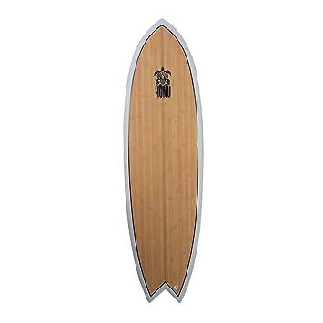 HONU Tabla de Surf Fish 6 4 White – Retro Design 4 ...