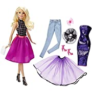 Amazon Lightning Deal 93% claimed: Barbie Fashion Mix 'N Match Doll - Blonde