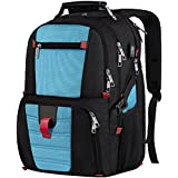 Extra Large Backpack, Durable Lightweight Travel Laptop Bag with Computer Compartment and Usb Charging Port/Headphone Hole,TSA Friendly Business Backpacks for Men & Women Holds 17 inch Laptops,Blue …