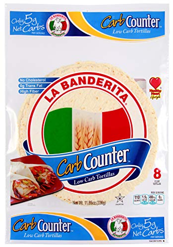 La Banderita® Carb Counter Flour Tortillas | 8