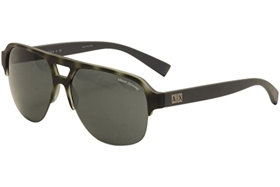 Amazon.com: Armani Exchange ax4056s anteojos de sol 820387 ...