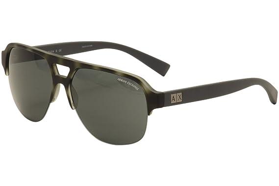 Amazon.com: Armani Exchange ax4056s anteojos de sol 820387 ...