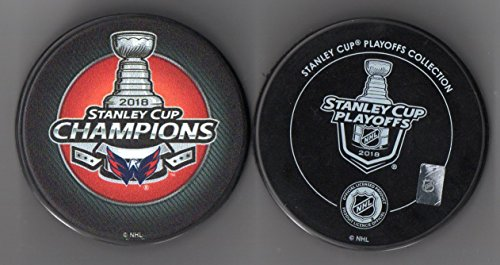 Nhl Cube - Washington Capitals 2018 Stanley Cup Champions Official NHL Puck + FREE Puck Cube