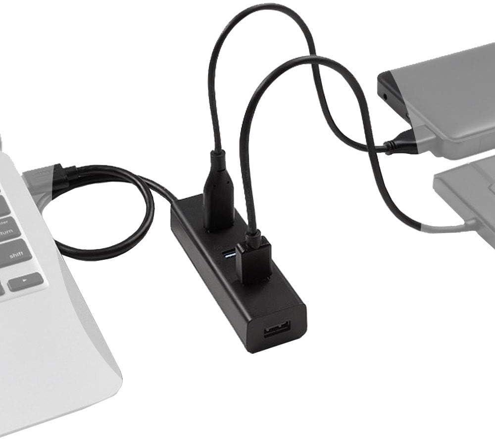 LANXI USB hub 1to 4 USB Splitter 4 Port USB hub