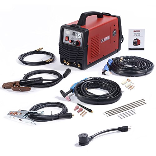 CTS-160, 30A Plasma Cutter, 160A TIG-Torch, 140A Stick Arc Welder 3-in-1 Combo Welding (CTS-160)