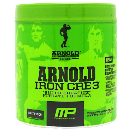 Arnold Par musclepharm fer Cre3 Fruit Punch