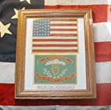 34 star Civil War Flag Set, 69th New York, Irish Brigade
