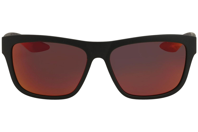 Amazon.com: anteojos de sol Puma PU 0060 S- 004 negro y rojo ...