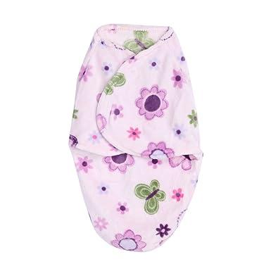 Silverone Saco para Bebé Recién Nacido Envoltura Suave Corta De Felpa Manta Envolver Saco De Dormir: Amazon.es: Ropa y accesorios