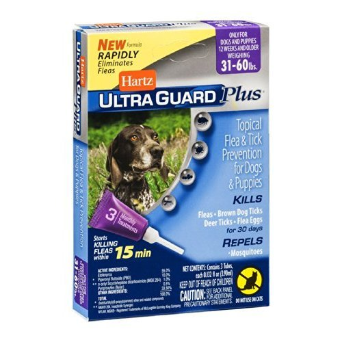 UltraGuard Plus Flea And Tick Treatment Drops For Dogs And Puppies