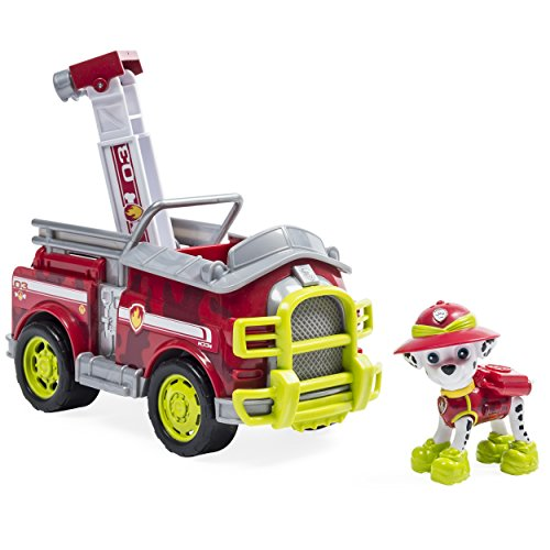 Paw Patrol Jungle Rescue Marshall Vehicle Toy