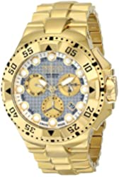 "Invicta Men's 15983 ""Excursion"" 18k Gold Ion-Plated Watch"