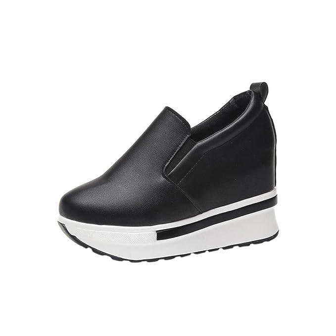 ¡Liquidación de Covermason! Zapatos planos de las mujeres Zapatos planos sólidos del dedo del pie redondo(35 EU, Beige): Amazon.es: Ropa y accesorios