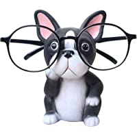 GUIRONG Fun Eyeglass Holder Display Stands - Home Office Decorative Glasses Accessories (Bulldog)