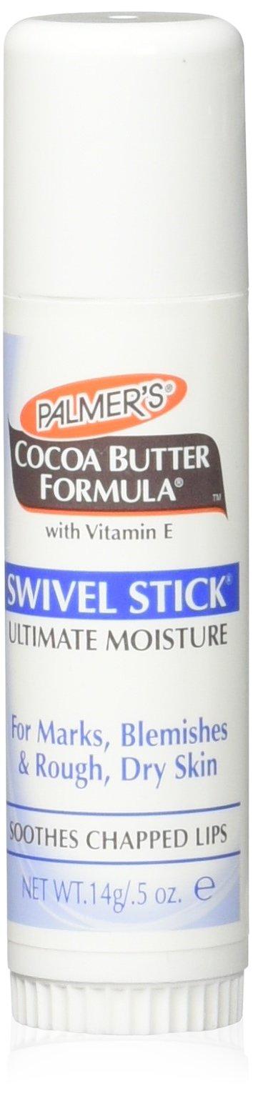 Palmer's Cocoa Butter Formula with Vitamin E, Swivel Stick, 0.5 Oz (Pack of 4)