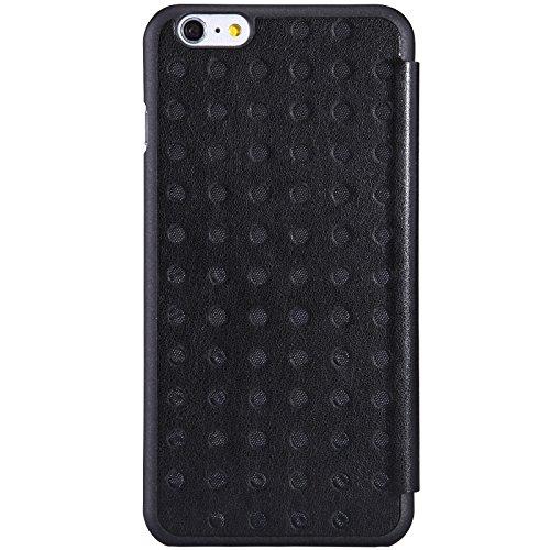 Nillkin Flip Case Cover conque Rückdeckel PU Schutzhülle Leder Schutzhülle für Apple iPhone 6Plus 5.5, rot