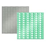 American Crafts Next Level Woven Embossing Folder