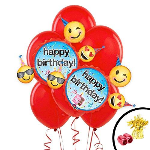 Emoji Wishes Jumbo Balloon Bouquet ()