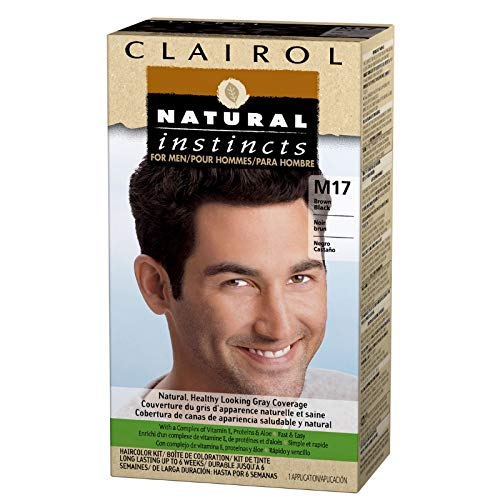 Natural Instincts For Men Haircolor M17 Brown Black 1 Each (Pack of 10)