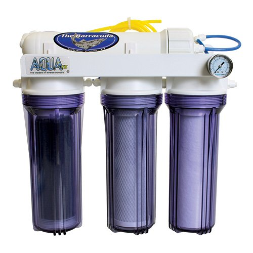 AquaFX Barracuda RO/DI Aquarium Filter, 50 GPD