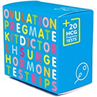 PREGMATE 50 Ovulation LH and 20 Pregnancy HCG Test Strips OPK LH Surge Predictor Kit Combo (50 LH + 20 HCG)
