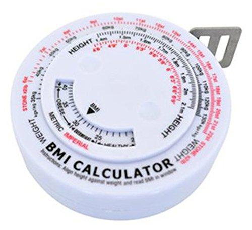 Accurate Health BMI Calculator Body Measure Tape-round