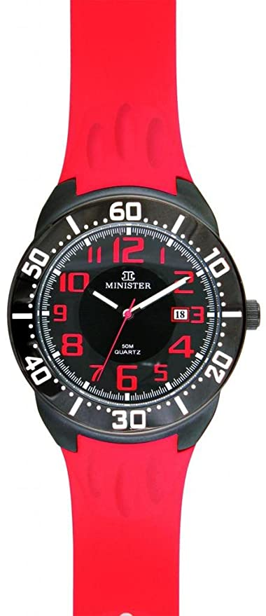 Minister Deportiva-8756 Reloj Unisex de pulsera Deportiva-: Amazon.es: Relojes