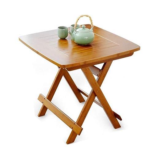 XUERUI Mesas Mesas Escritorio Bambú Plegable Ayudas Portátiles ...