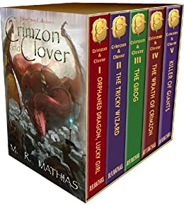 Crimzon and Clover - Collection One (Stories 1-5) (Crimzon and Clover Collection) by [Mathias, M. R.]