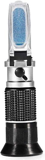 0-90% Brix Meter Refractometer,V-Resourcing Portable Hand Held Sugar Content Measurement for