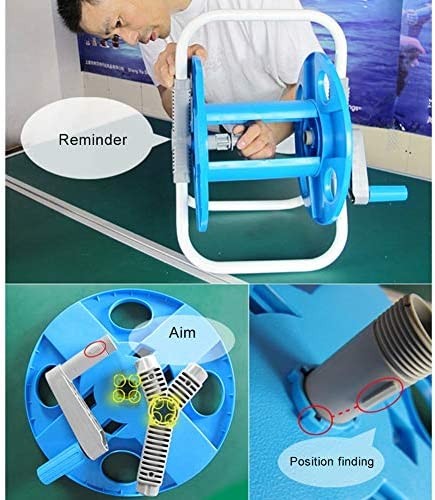 LTLCBB Garden Compact Hose Reel with Modern and Attractive Design, Ideal for Watering Plants, Gardens, Balconies and Terraces Mini Min