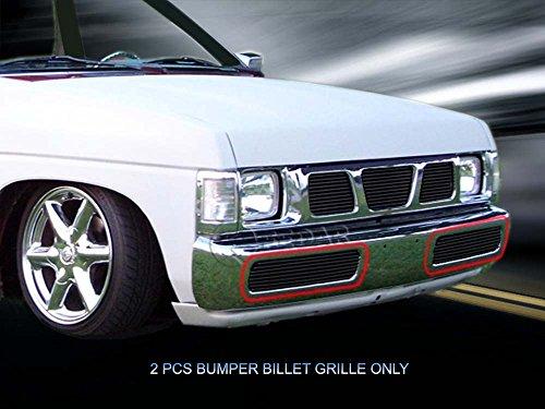 1996 nissan hardbody front bumper - 4